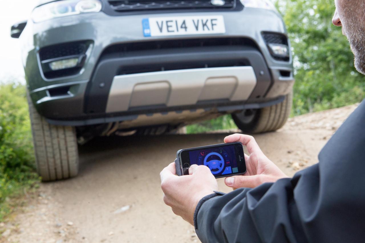 Управление автомобилем со смартфона